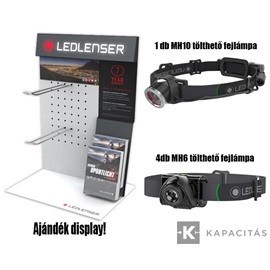 LedLenser outdoor display 4db MH6 + 1db MH10