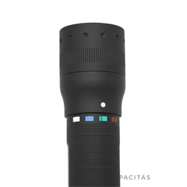 LEDLENSER P7QC LED lámpa, 1xXML multicolor LED, 4XAAA elemmel 220lm