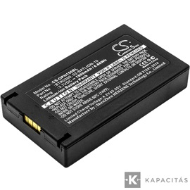 Opticon  11855,  BP07-000120, 02-BATLION-10 3.7V 1800mAh utángyártott RealPower Li-ion akku