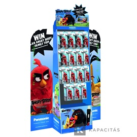 Panasonic Angry Birds lámpa display 50db-os
