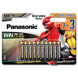 Panasonic Everyday Power AAA LR03EPS/10BW alkális elemcsomag